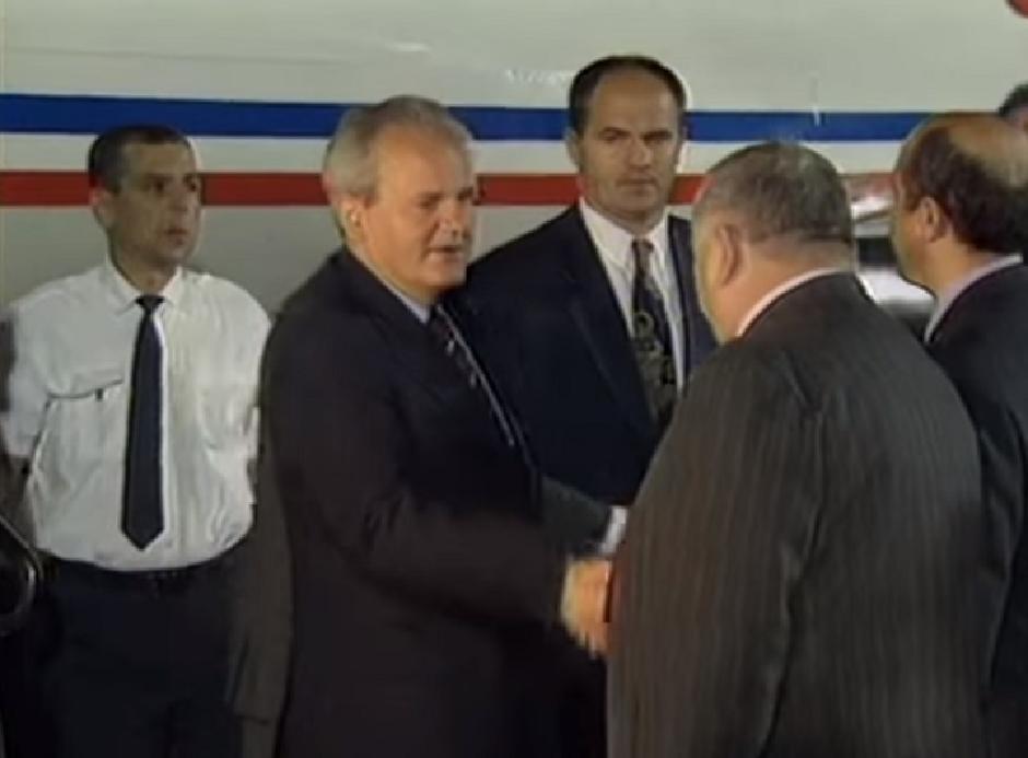 Slobodan Milošević FOTO: Printscreen/Youtube/AP Archive