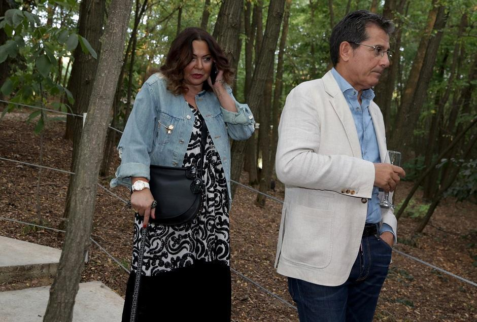 Ksenija Vučić i Beba Popović FOTO: Ata Images/Antonio Ahel
