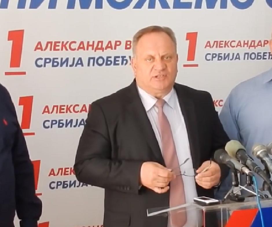 Gradonačelnik Leskovca Goran Cvetanović FOTO: Printscreen/Youtube