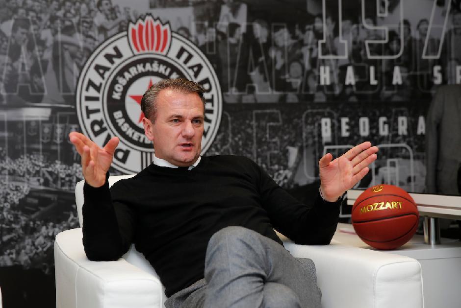 Predsednik KK Partizan Ostoja Mijailović, Foto: Starsport