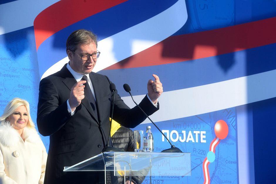 Aleksandar Vučić FOTO: D. Goll