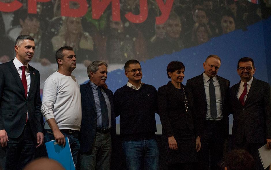 Skup opozicije FOTO: Milica Vučković