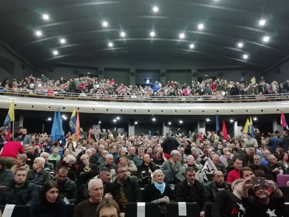 Skup srpske opozicije Foto: Milica Vučković