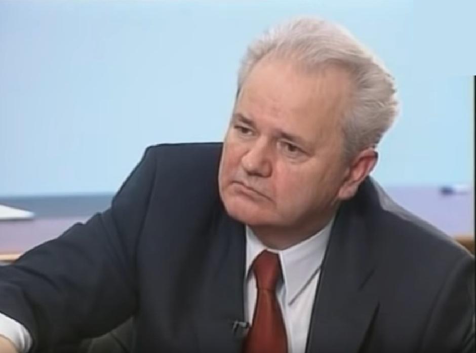 Slobodan Milošević Foto: Printscreen