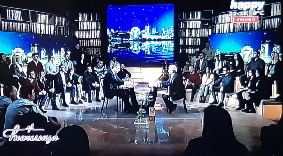 Predsednik Vučić često gostuje na Hepiju FOTO: Printscreen