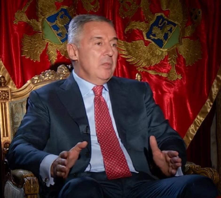 Milo Đukanović FOTO: Printscreen