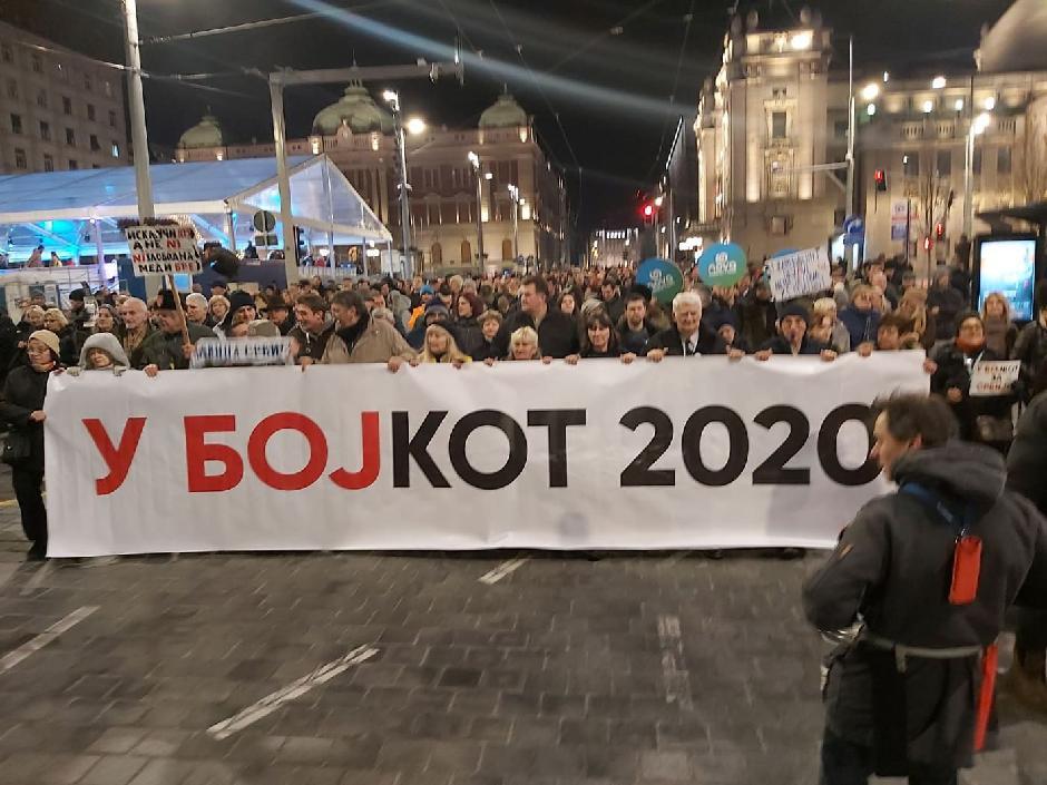 Opozicija bojkotuje izbore 2020, Foto: Milica Vučković