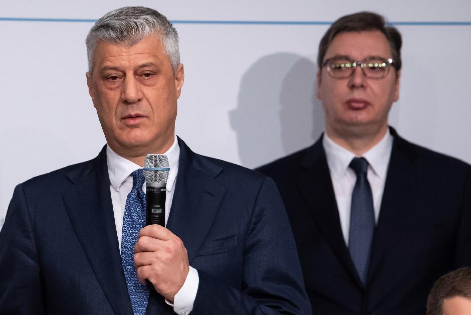 Hašim Tači i Aleksandar Vučić, Foto: Profemedia.rs