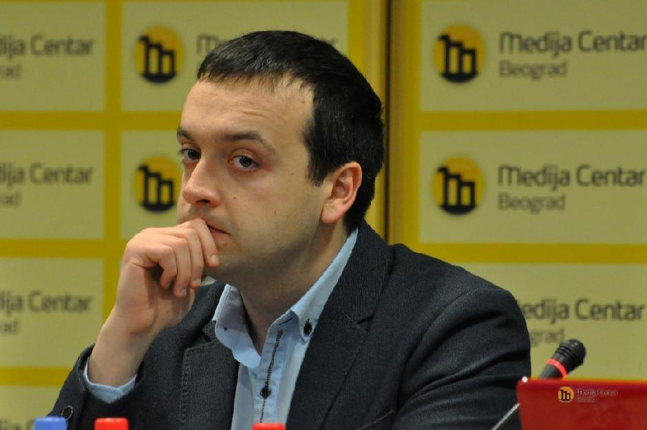 Boban Stojanović FOTO: Medija centar