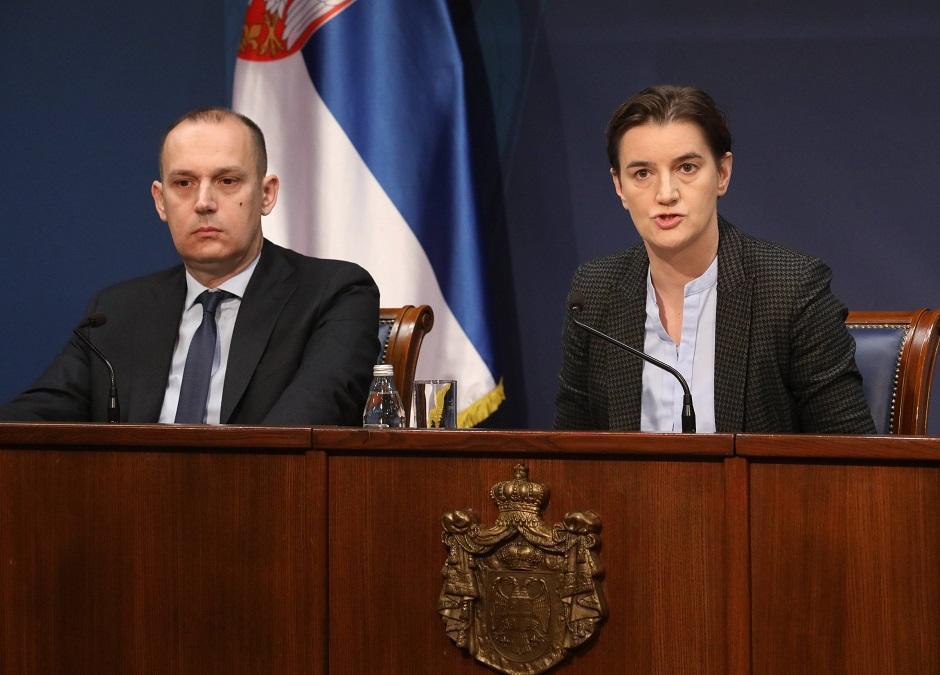 Zlatibor Lončar i Ana Brnabić, Foto: Beta/Slobodan Miljević