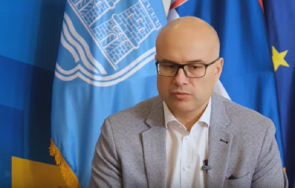 Miloš Vučević, gradonačelnik Novog Sada, Foto: Printscreen/YouTube