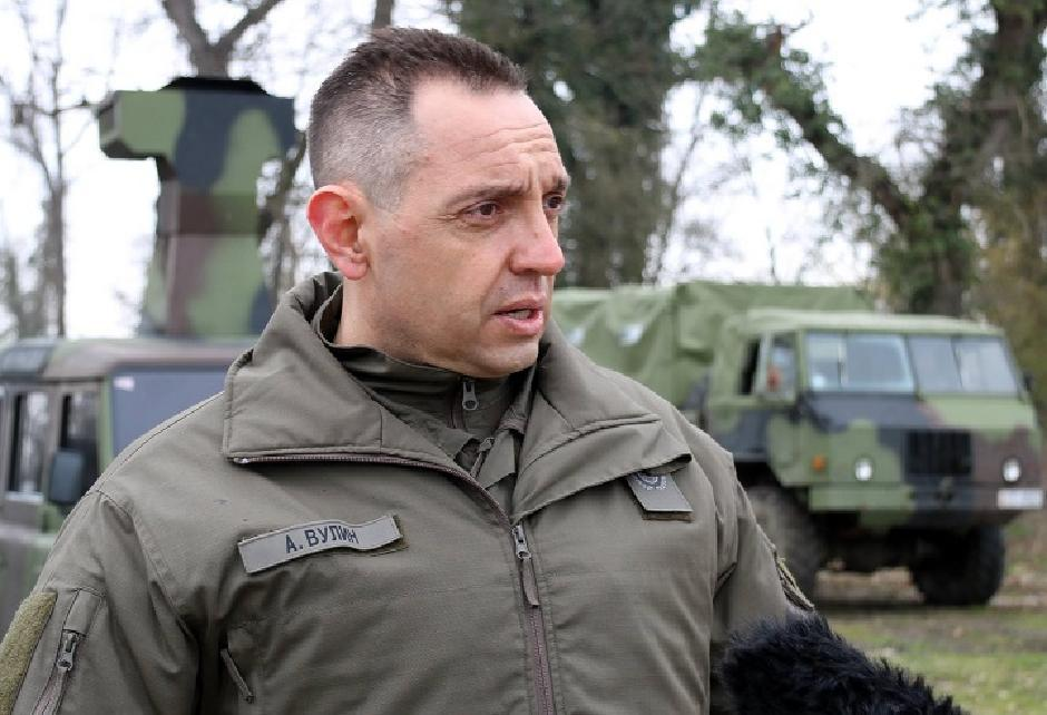 Aleksandar Vulin FOTO: Ministarstvo odbrane/Beta
